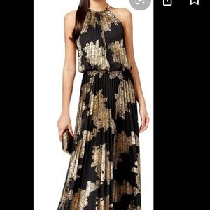 Black and gold MSK gown